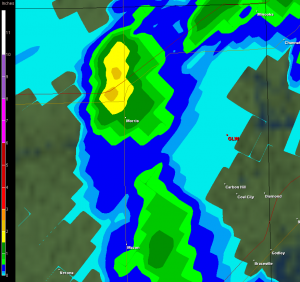 Radar Estimated Rainfall